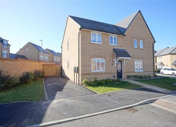 Thumbnail 3 bed semi-detached house for sale in Norris Drive, Godmanchester, Huntingdon