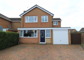 Thumbnail 4 bed detached house for sale in Glendon Close, Market Drayton