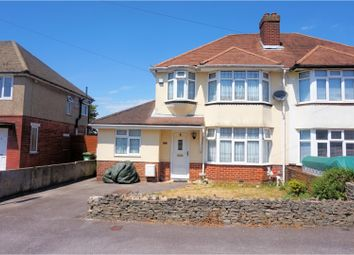 Thumbnail 4 bed semi-detached house for sale in Luton Road, Sholing, Southampton
