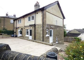 Thumbnail 2 bed semi-detached house to rent in Kirk Lane, Hipperholme, Halifax