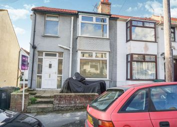 Thumbnail 3 bed end terrace house for sale in Roedale Road, Brighton