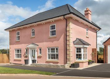 "Thumbnail 4 bed detached house for sale in ""Oakhampton"" at Bevans Lane, Pontrhydyrun, Cwmbran"