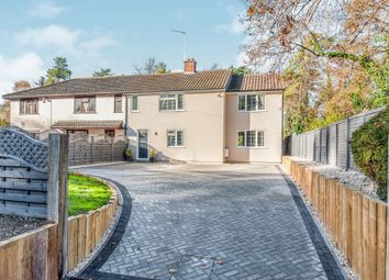 Thumbnail 4 bed semi-detached house for sale in Hollow Road, Bury St. Edmunds