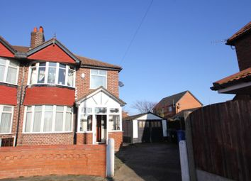 Thumbnail 3 bed semi-detached house for sale in Belford Road, Stretford, Manchester