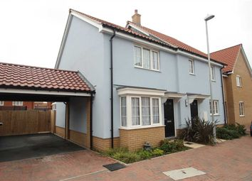 Thumbnail 2 bed semi-detached house for sale in Nicholls Way, Clacton-On-Sea