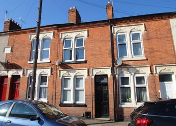 Thumbnail 2 bed terraced house for sale in Lord Byron Street, Knighton Fields, Leicester
