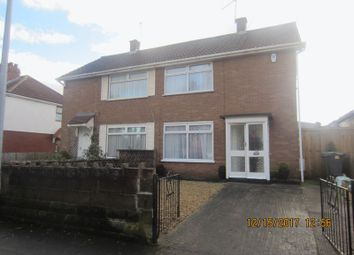 Thumbnail 2 bedroom semi-detached house to rent in Mill Road, Ely, Cardiff