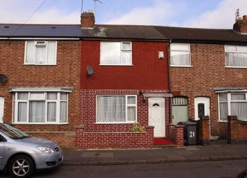 Thumbnail 2 bedroom terraced house for sale in Prestwold Road, Leicester