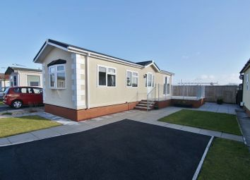 Thumbnail 2 bed mobile/park home for sale in Sea View Residential Park, Bank Lane, Warton