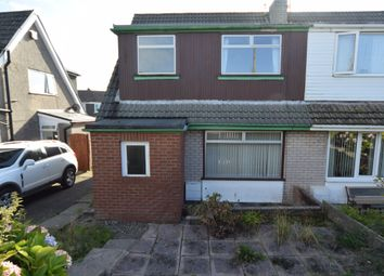 Thumbnail 3 bed semi-detached house for sale in Green Lane, Dalton-In-Furness