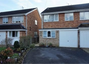 Thumbnail 3 bed semi-detached house for sale in Quantock Road, Stourbridge