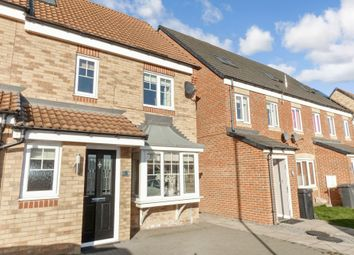 Thumbnail 4 bed terraced house for sale in Casey Court, Ashington