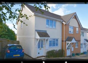 Thumbnail 2 bed terraced house to rent in Fern Close, Okehampton, Devon