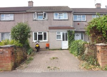 Thumbnail 3 bedroom terraced house for sale in Carstairs Avenue, Park South, Swindon, Wiltshire