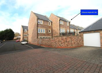 Thumbnail 4 bed town house for sale in Mansion Heights, Whickham
