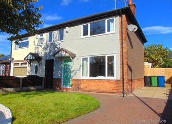 3 bed semi-detached house for sale in Cheviot Avenue, Warrington WA2