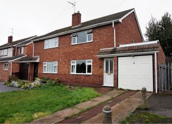 Thumbnail 3 bed semi-detached house for sale in Essex Drive, Cannock