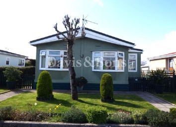 Thumbnail 2 bed mobile/park home for sale in Lighthouse Park, St Brides, Newport.