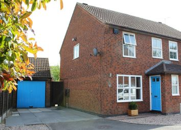 Thumbnail 3 bed semi-detached house for sale in Juniper Close, Leicester Forest East, Leicester