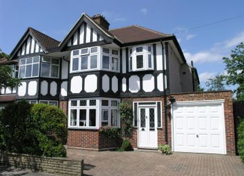 Thumbnail 4 bed semi-detached house for sale in Montrose Avenue, Whitton, Twickenham