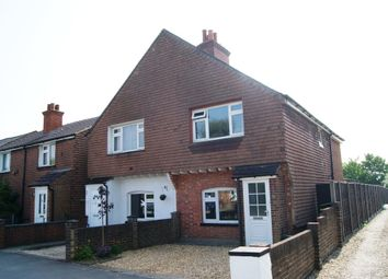 Thumbnail 3 bed semi-detached house for sale in Mytchett Road, Mytchett, Surrey