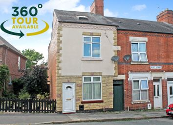 Thumbnail 3 bed end terrace house for sale in Scott Street, Knighton Fields, Leicester