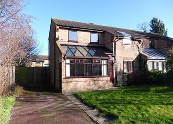 Thumbnail 3 bed semi-detached house to rent in Northcroft, Shenley Lodge, Milton Keynes