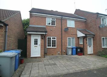 Thumbnail 2 bedroom semi-detached house to rent in Brambleside Court, Kettering