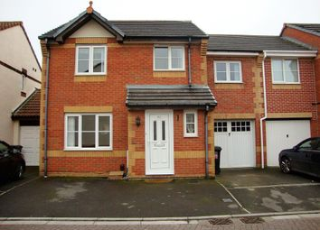 Thumbnail 4 bed semi-detached house for sale in Camberley Walk, Weston-Super-Mare