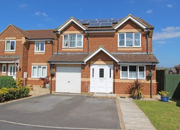 Thumbnail 4 bed detached house for sale in Saxon Way, Cullompton