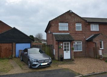 Thumbnail 3 bed semi-detached house for sale in Euston Court, Felixstowe