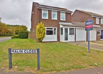Thumbnail 3 bed link-detached house for sale in Malin Close, Stubbington, Fareham