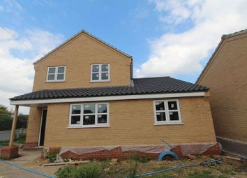 Thumbnail 3 bedroom detached house for sale in Beccles Road, Bradwell, Great Yarmouth