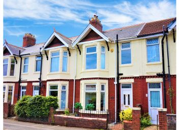 Thumbnail 3 bed terraced house for sale in Velindre Place, Cardiff