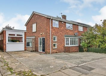 Thumbnail 3 bed semi-detached house for sale in Lumley Road, Durham