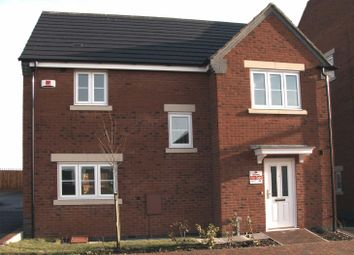 Thumbnail 3 bed detached house for sale in Off Loughborough Road, Birstall, Leicester