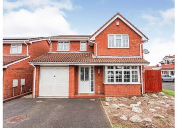 Thumbnail 4 bed detached house for sale in O'connor Drive, Tipton