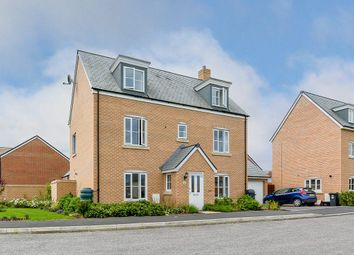 Thumbnail 5 bed detached house for sale in Kingfisher Close, Trowbridge