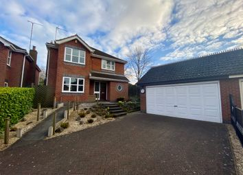 Thumbnail 4 bed detached house for sale in Pares Close, Whitwick, Coalville