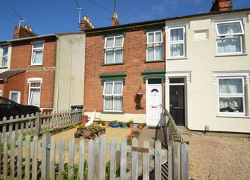 Thumbnail 3 bedroom end terrace house for sale in Newton Road, Ipswich