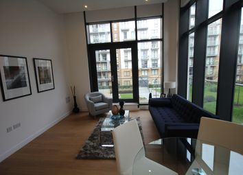 Thumbnail 1 bed flat to rent in Caspian Wharf, London, Bow