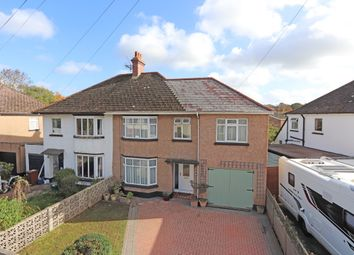 Thumbnail 4 bed semi-detached house for sale in Exeter Road, Cullompton
