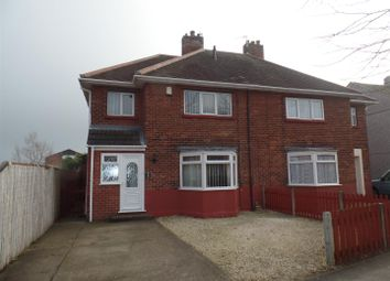 Thumbnail 3 bed semi-detached house for sale in Shannon Avenue, Lincoln