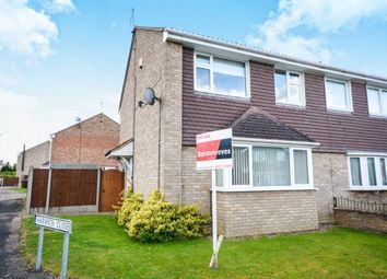 Thumbnail 3 bedroom semi-detached house for sale in Newhaven Drive, Lincoln, Lincolnshire