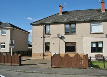 Thumbnail 2 bed flat for sale in Mannfield Avenue, Bonnybridge, Stirlingshire