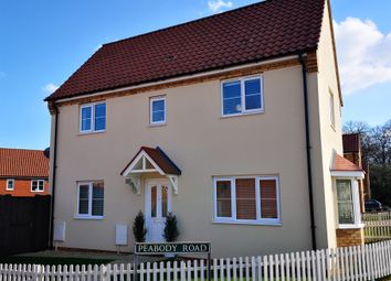Thumbnail 3 bed semi-detached house for sale in Peabody Road, Aylsham, Norwich