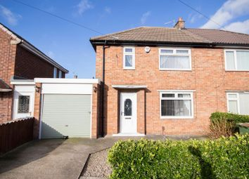Thumbnail 2 bed semi-detached house for sale in Wordsworth Road, Eston, Middlesbrough