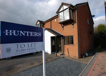 Thumbnail 2 bed semi-detached house to rent in Stambermill Close, Stourbridge
