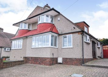 Thumbnail 4 bed semi-detached house for sale in Treewall Gardens, Bromley