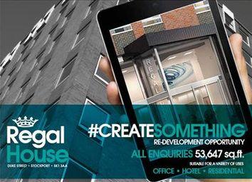 Thumbnail Office for sale in Regal House, Duke Street, Stockport, Greater Manchester
